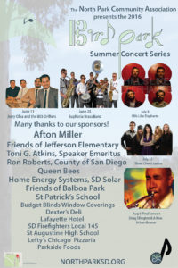 North Park Neighborhood Happenings: Summer Concerts