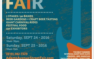 Neighborhood Happenings: Adams Avenue Street Fair