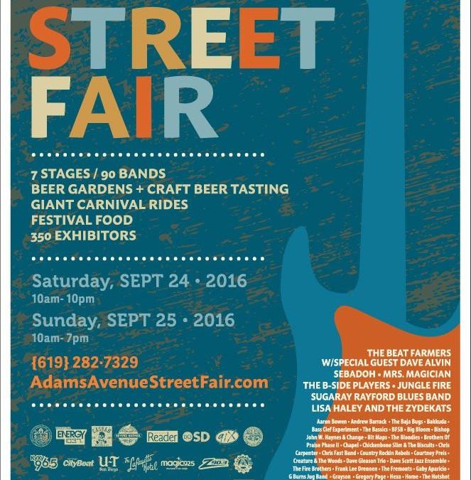 Neighborhood Happenings: Adams Avenue Street Fair